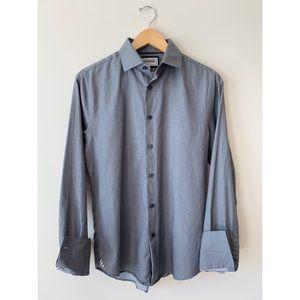 Express ✈️ Men's Fitted Button Down Dress Shirt